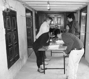 Workshop in Dhulikhel mit Studenten der Kathmandu und Lumbini Universität