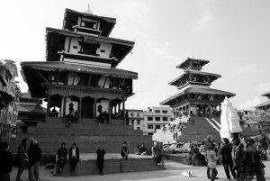 Hinduistischer Tempel Maju Deval in Kathmandu