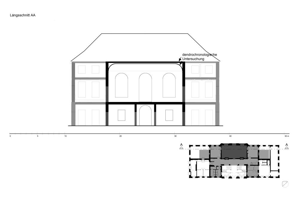 1. Bauzustand 1685-89