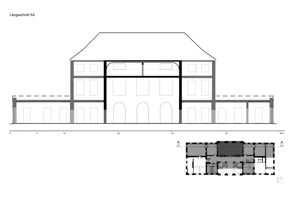 3. Bauzustand um 1730