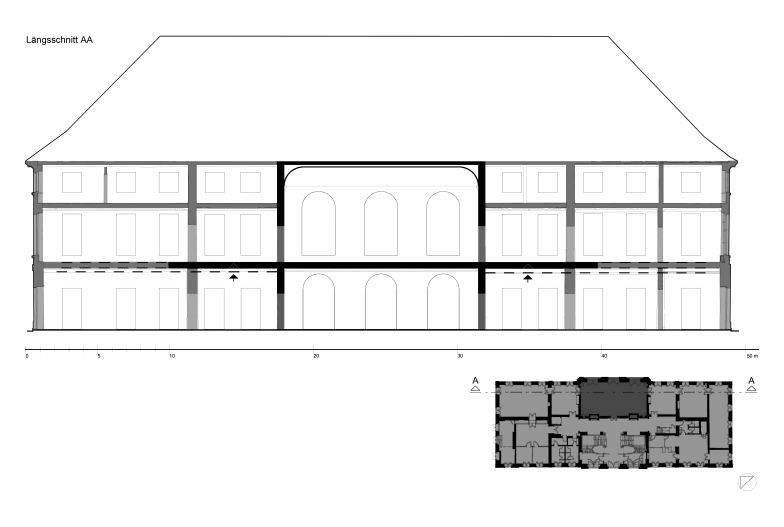4. Bauzustand 1763/64
