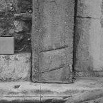 Westansich des Südlichen Stahlbetonpfeilers - Domitiansbrunnen