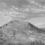 Ansicht des Monte Turcisi von Osten (Foto Melanie Jonasch, 2016)