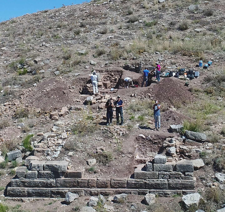 Die Befestigung auf dem Monte Turcisi