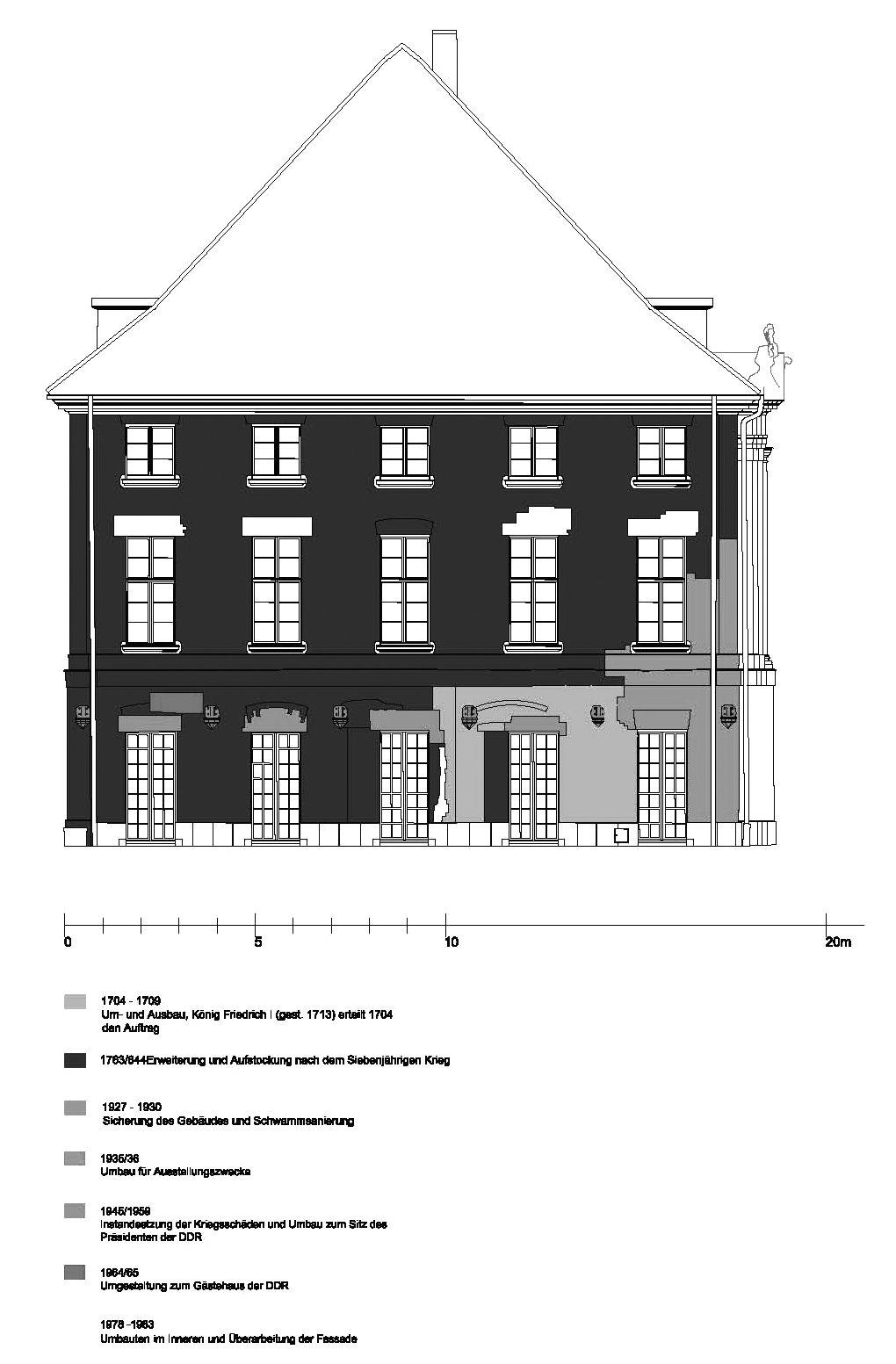 Sh fassade sud bauphasen technische universit t berlin for Technische universitat berlin architektur