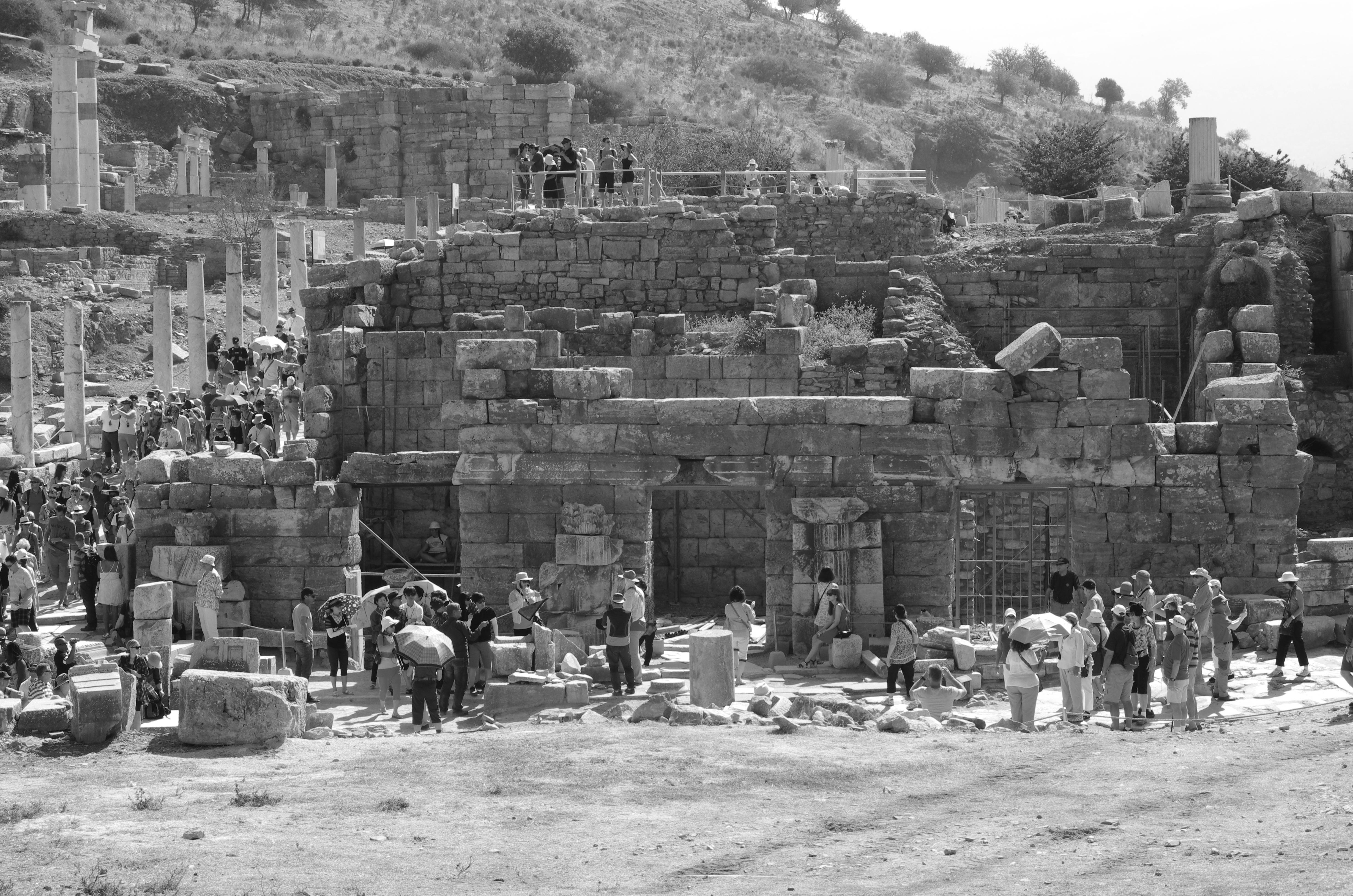 Die obere Agora von Ephesos – Türkei