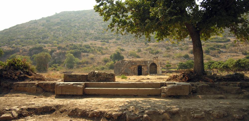 Der Şekerhane Köşkü in Selinus – Türkei