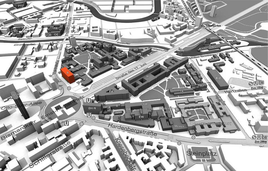Tu Berlin Hauptgebäude Plan
