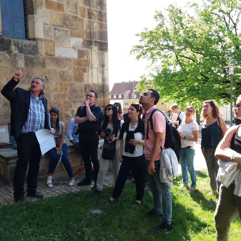 Exkursion nach Hildesheim und Braunschweig